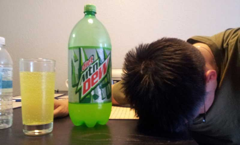 Mountain Dew time!
