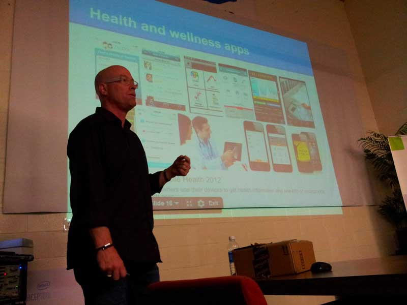 Jay Sales covers all the latest mobile health trends